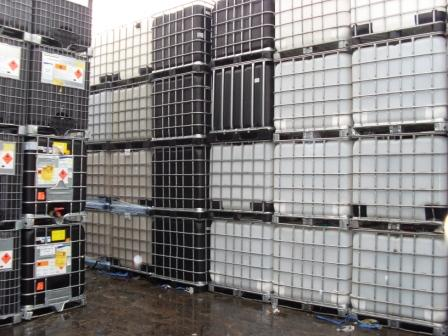 Clean, reconditioned IBCs