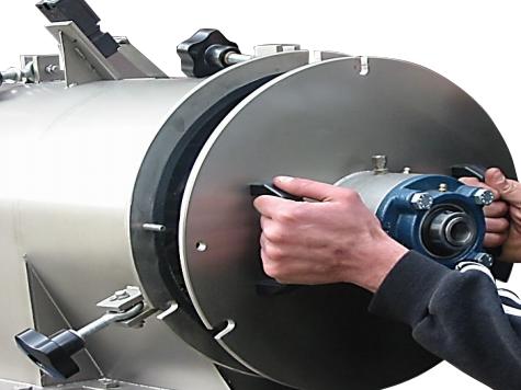 Rotary Separator- Rotajet - Separation - System - fluids- solids - liquids - Vibrating grade - refine-2